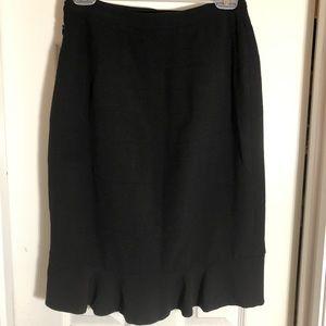 Anthropologie HD in Paris women's black skirt